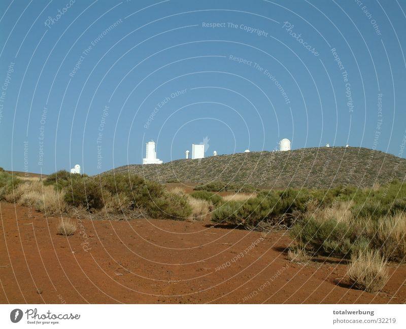 observatory Tenerife Europe Desert Sky Mars