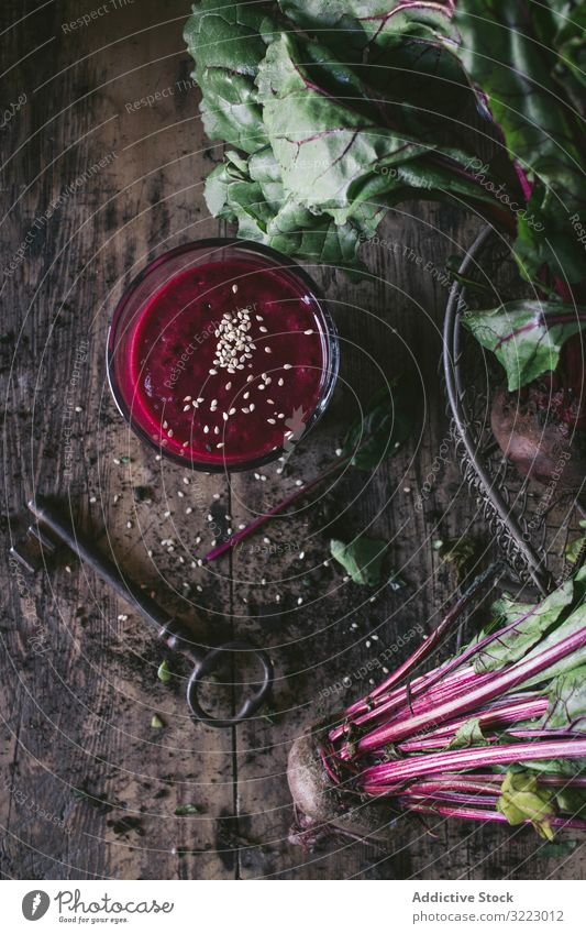 Beetroot and fresh smoothie on wooden table beetroot vegetable juice food beverage refreshment organic drink glass healthy natural gourmet antioxidant delicious