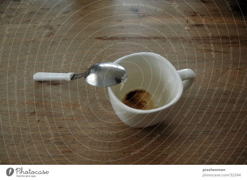 White Nutrition Coffee Break Cup Spoon