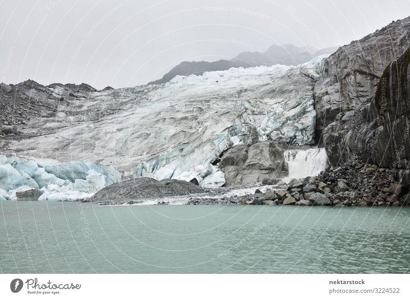 Patagonian Glaciers and Misty Sky Adventure Nature Landscape Fog Rock River Gray Chile South America ice scenics - nature famous place beauty in nature