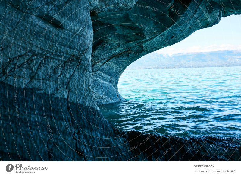 Blue walls and waters of the Marble Caves of Chile Nature Landscape Stone Fantastic Funny Turquoise Patagonia South America scenics - nature