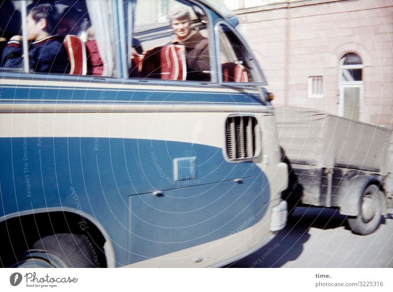 class trip House (Residential Structure) Transport Means of transport Passenger traffic Public transit Bus travel Trailer Bright Life Orderliness Curiosity