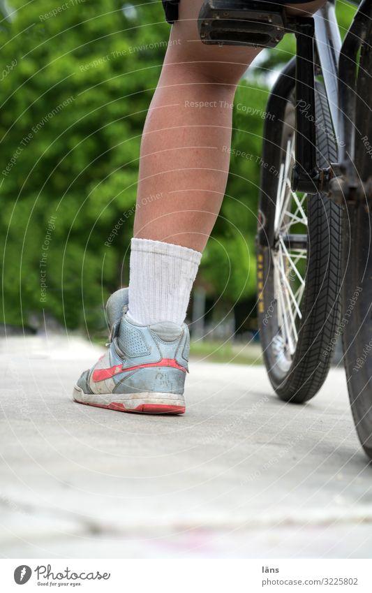 Legs Bicycle Stand Wait Chemnitz Sports ground