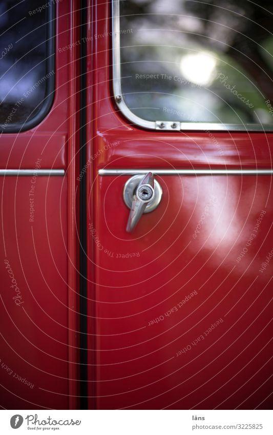 Red Car Transport Car door Mobility Duck Door handle