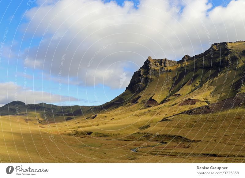 exceptionally beautiful landscape in Iceland Vacation & Travel Summer Beach Environment Nature Landscape Sand Sky Sun Climate Climate change Weather