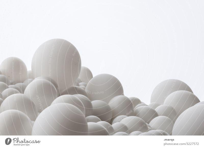 microcosm Pharmaceutics Pill Ball Balloon Bright Clean White Esthetic Design Health care Surrealism Sphere The pill Sterile Colour photo Close-up Detail