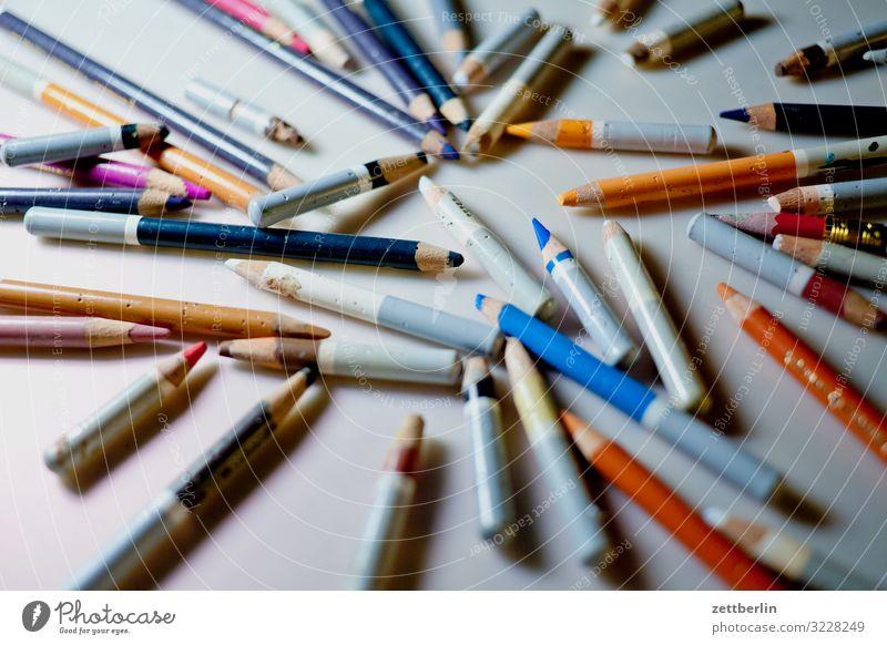 pastels Workbench Multicoloured Crayon Conceptual design Colour Media designer Graphic artist Illustration Illustrate Idea Creativity Chalk Art Artist