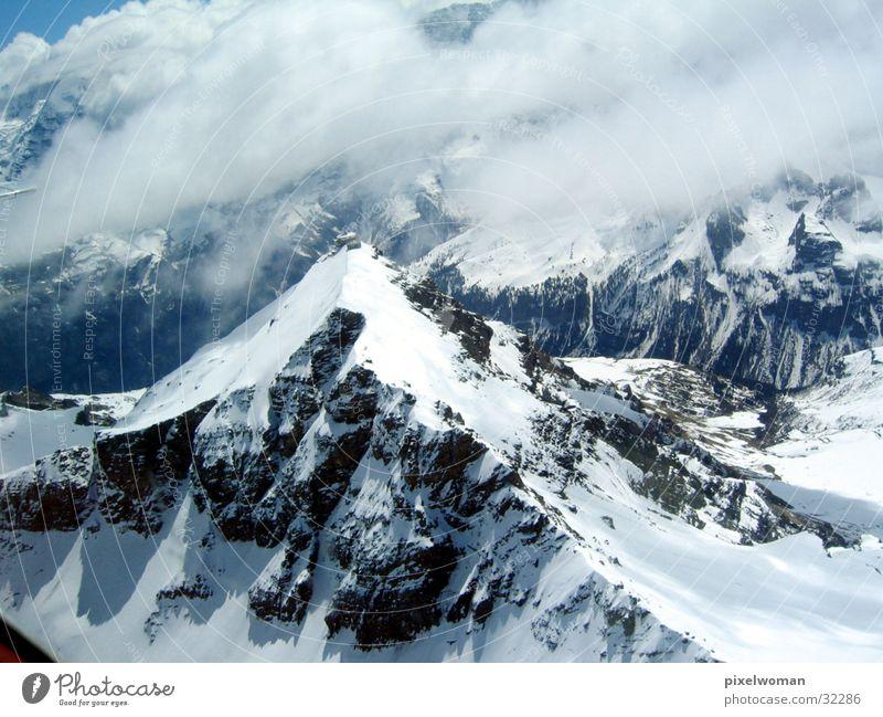 Sky Clouds Mountain Stone Landscape Weather Climbing