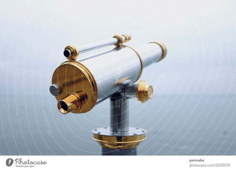 farsighted | full tube Technology Nature Landscape Elements Water Sky Horizon Lakeside Utilize Observe Looking Far-off places Telescope Binoculars
