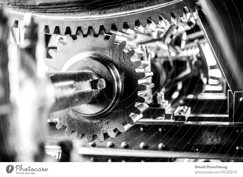 toothed wheels Economy Industry Energy industry Business Company Career Success Meeting Team Technology Advancement Future Hydroelectric  power plant
