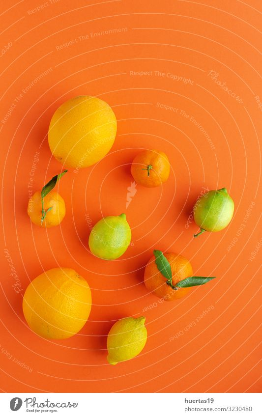 oranges, tangerines and lemons seen from above Food Vegetable Fruit Orange Dessert Nutrition Breakfast Vegetarian diet Diet Healthy Eating Fresh Natural Above