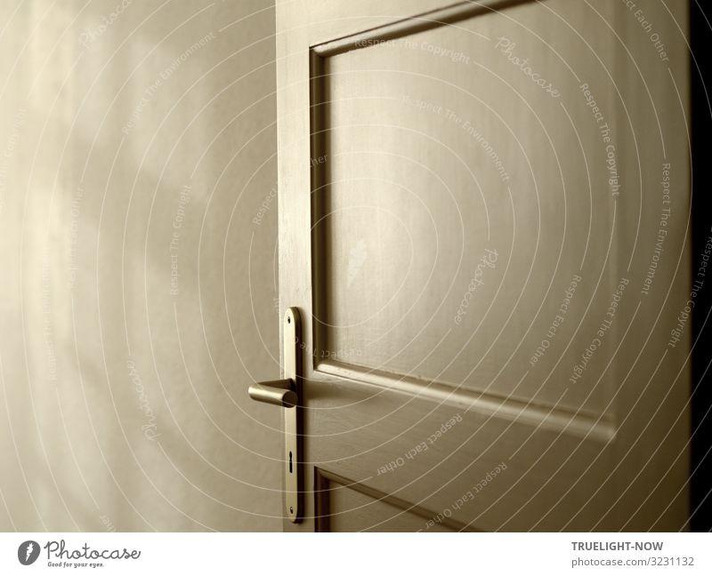 Door to favorite room... Harmonious Relaxation Calm Meditation Living or residing Flat (apartment) Interior design Room Bedroom Secrecy Curiosity Hope