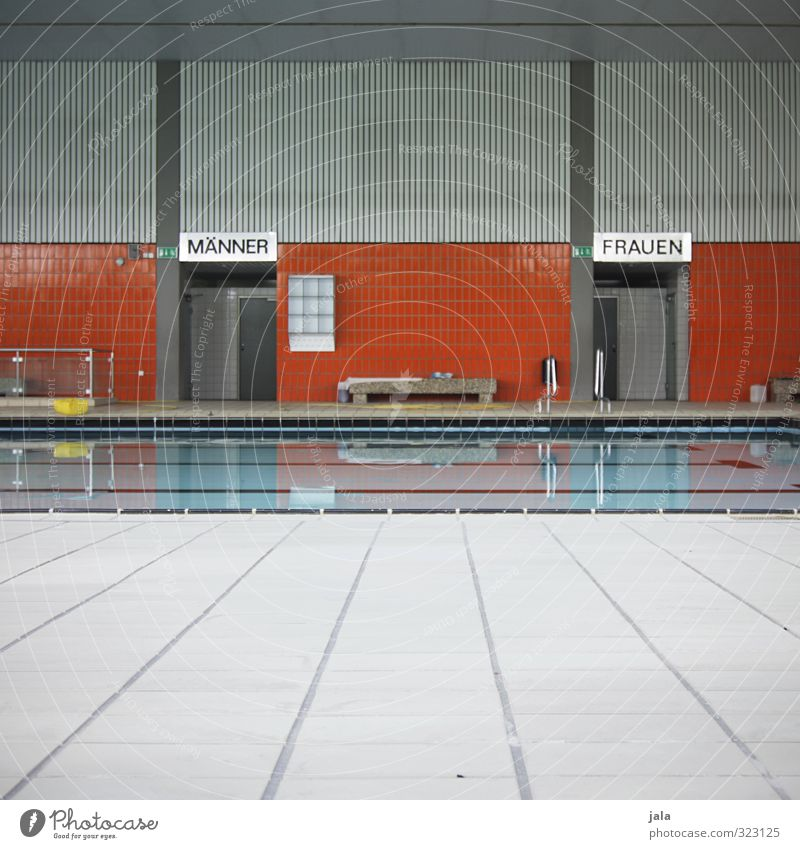 indoor swimming pool Healthy Health care Athletic Fitness Swimming & Bathing Sporting Complex Swimming pool Indoor swimming pool Simple Colour photo