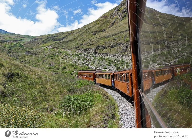 Andean railway in Alausi Ecuador goes to the devil's nose Vacation & Travel Environment Nature Landscape Sky Climate Climate change Weather Beautiful weather