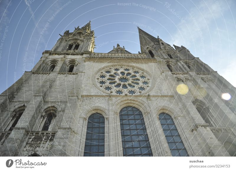 old church somewhere in france Church built Architecture Exterior shot Deserted Tourist Attraction Religion and faith Historic Landmark Dome Belief Facade