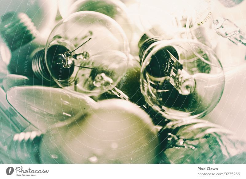 light bulbs Lifestyle Style Design Lamp Art Glass Pink Moody Colour photo Interior shot Close-up Detail Deserted