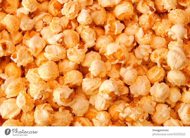 """PopCorn Food Nutrition Fast food Popcorn Background picture Nibbles Delicious To enjoy Boredom """"background detailed Close-up nibbling nibble Calorie"""