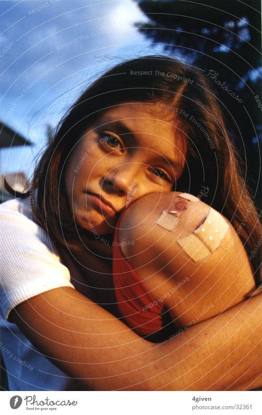 Child Sadness Grief Pain Tears Adhesive plaster Knee