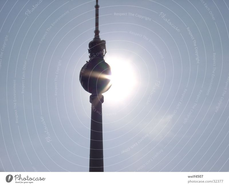 sunbath Building Art Architecture Sun Tower Berlin Tourist Attraction