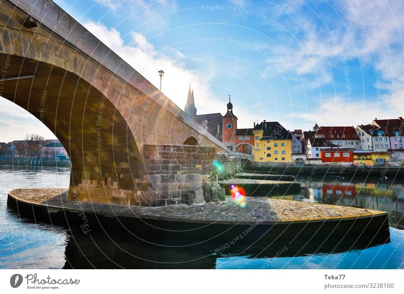 Regensburg #2 Winter Esthetic Religion and faith Bavaria Danube Regen (City) Colour photo Exterior shot