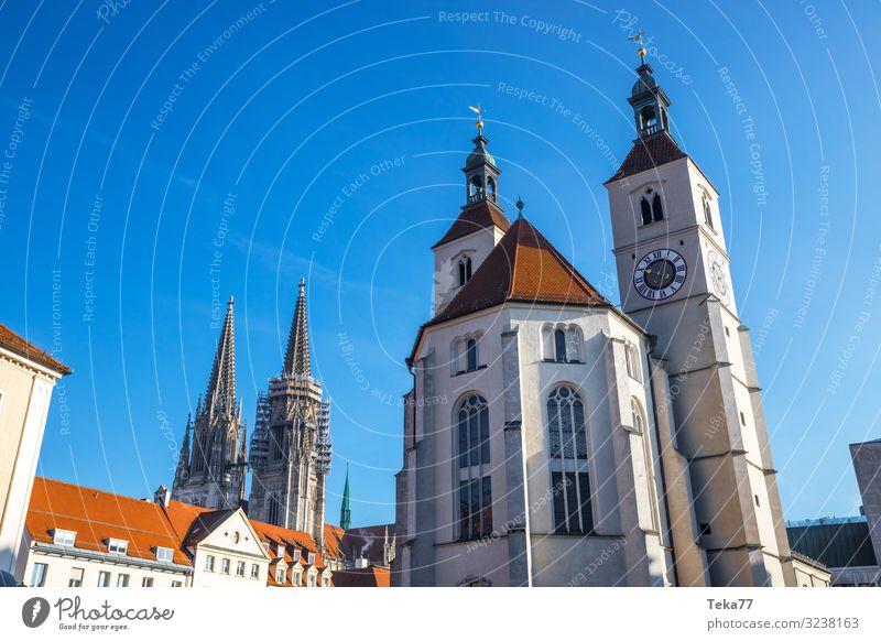Regensburg #1 Winter Esthetic Religion and faith Bavaria Danube Regen County Colour photo Exterior shot