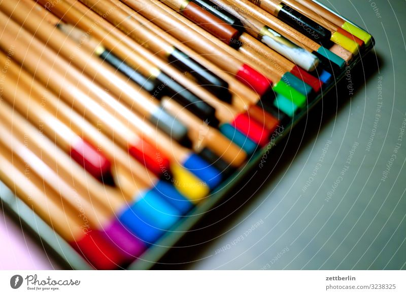 Colour Dye Art Creativity Idea Illustration Many Painting and drawing (object) Desk Pen Crowd of people Chalk Artist Conceptual design Selection Crayon