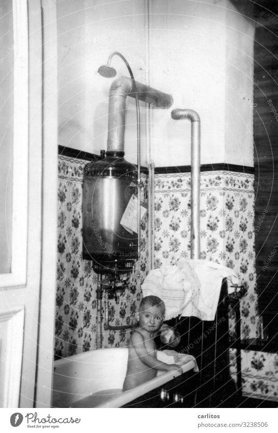 Child Swimming & Bathing Infancy Bathtub Simple Past Childhood memory Former Twenties