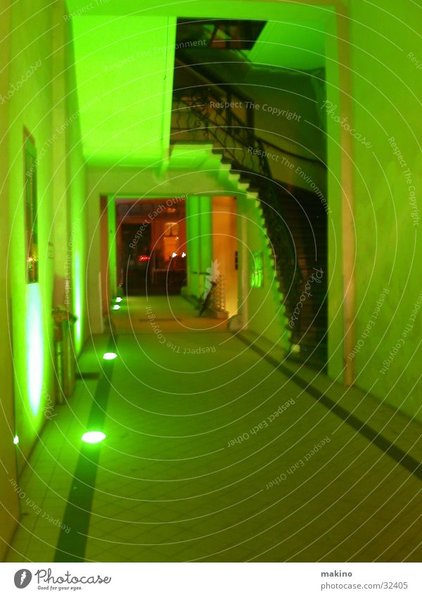 Green Architecture Stairs Entrance Ladder Eerie