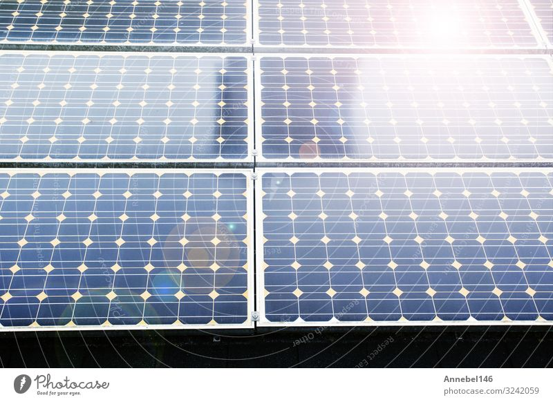 Texture of photovoltaic panels solar panel background, Beautiful Summer Sun Science & Research Industry Business Technology Environment Nature Plant Sky Modern