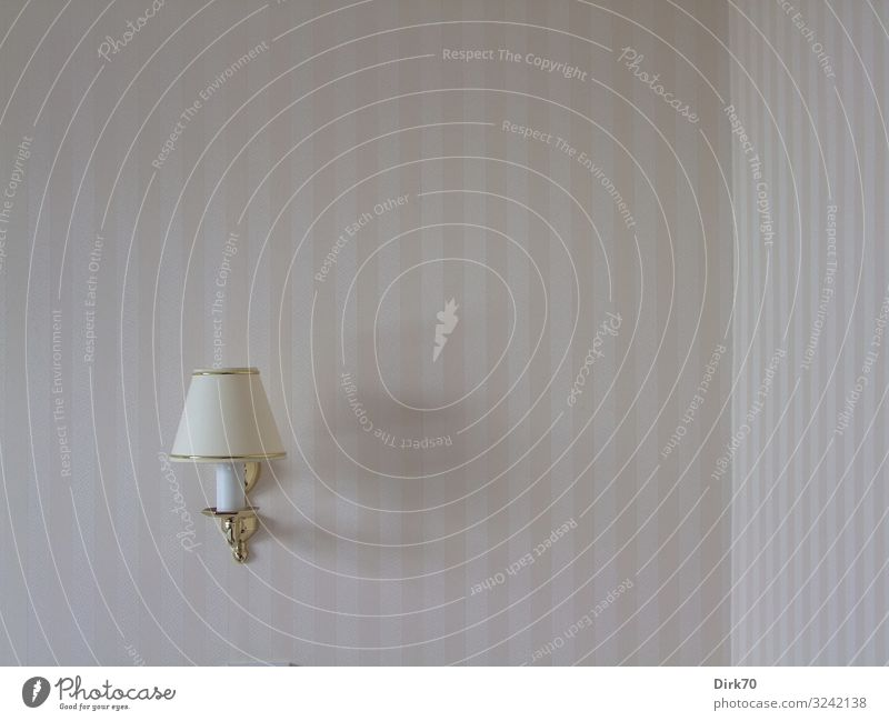 reading lamp on the wall with room corner Vacation & Travel Tourism Hotel Hotel room Living or residing Flat (apartment) Lamp Wallpaper Room Bedroom