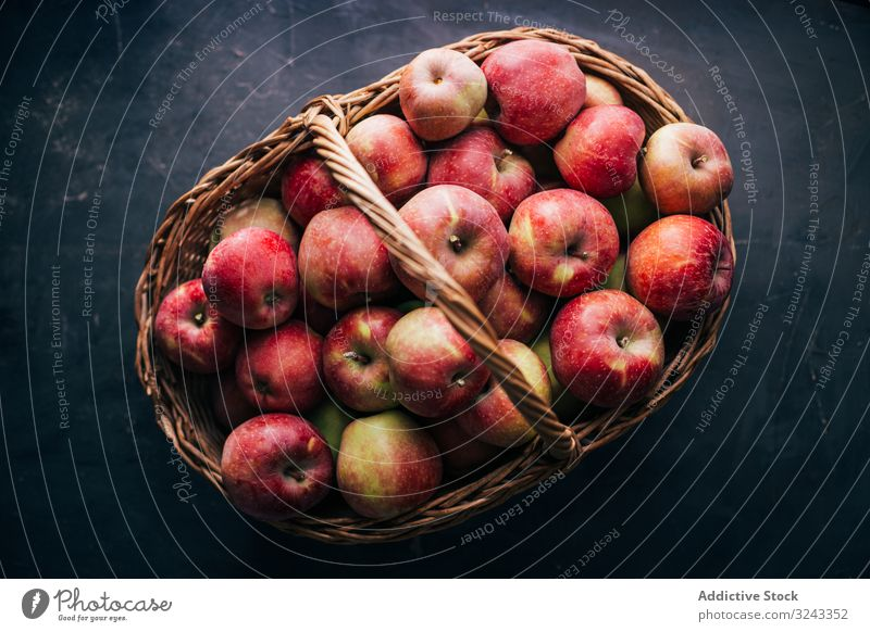 Fresh red apples fresh ripe table fruit tasty sweet healthy food summer vitamin delicious juicy diet raw natural refreshment vegetarian organic nutrition