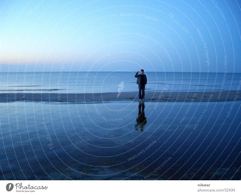 Human being Sky Ocean Blue Beach Sand Wave