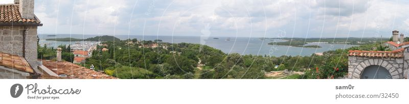 Ocean Large Europe Island Panorama (Format) Croatia