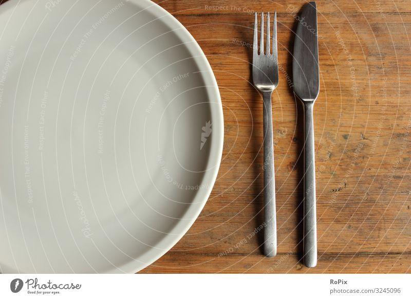 Empty dish on a wooden table. Healthy Eating Lifestyle Wood Religion and faith Emotions Style Art Work and employment Moody Esthetic Table Authentic Poverty