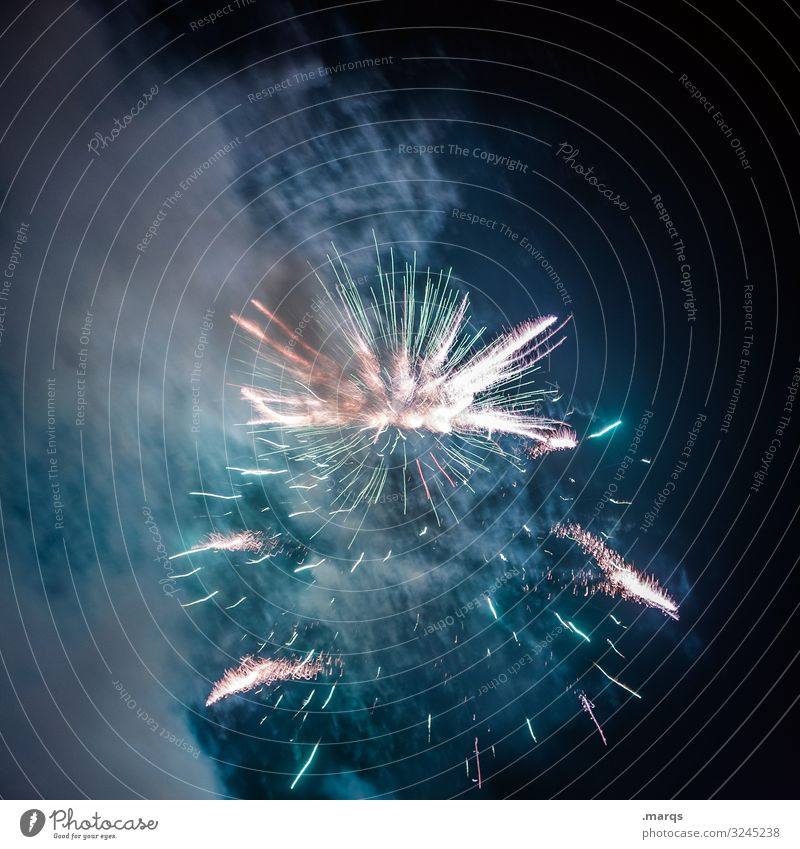 A Star is born Firecracker Feasts & Celebrations New Year's Eve Birthday Multicoloured Blue Red Turquoise Explode Explosion Joy Happy Party Event Shows Smoke