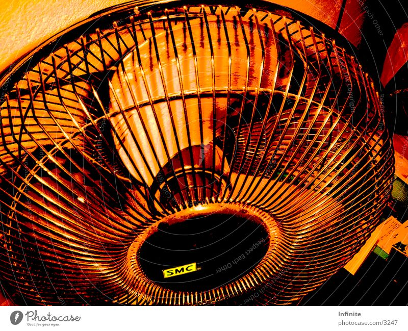 ventilator Fan Brown Air Grating Protective grid Black Photographic technology Old Movement circulation Rotor blow SMC