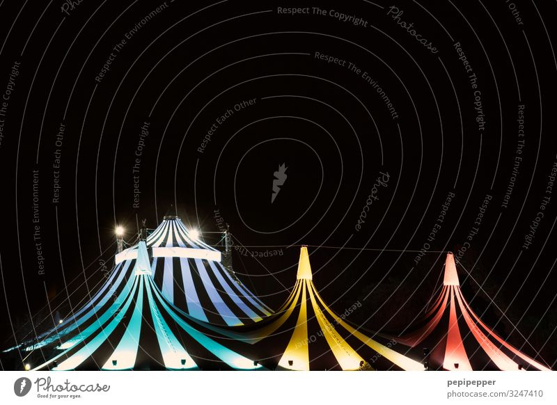 tents Leisure and hobbies Night life Going out Workplace Circus Architecture Theatre Dance event Tent Facade Line Stripe Multicoloured Colour photo