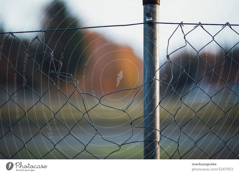 Wire mesh fence Border security Migration Living or residing Flat (apartment) Garden Education Economy Human being Group Crowd of people Metal Fear Horror