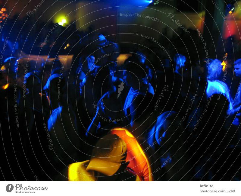 Blue Dark Party Dance Disco Club Night life