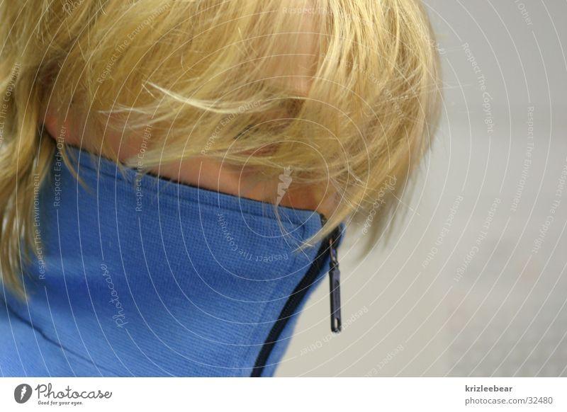training jacket Blonde Zipper Closed Man tisi Blue Hide