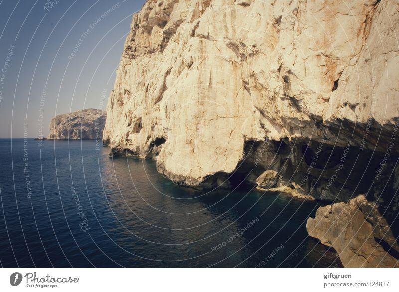 Sky Nature Blue Water Ocean Landscape Environment Coast Stone Rock Horizon Earth Large Beautiful weather Elements Italy