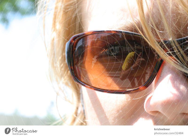 tisi Sunglasses Eyeglasses Blonde Strand of hair Man symbiosis straw blonde