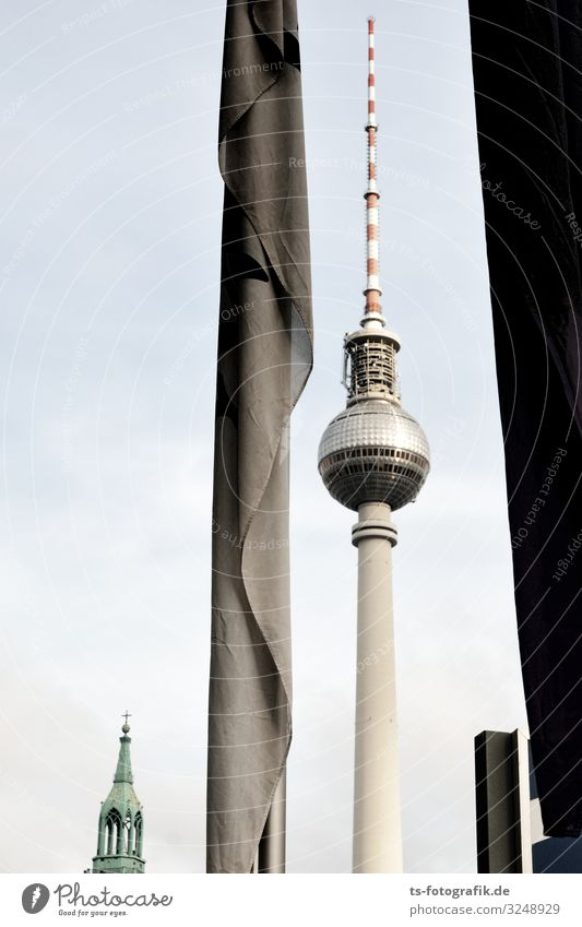 Vacation & Travel Town Architecture Berlin Building Germany Tourism High-rise Technology Telecommunications Tall Tower Tourist Attraction Skyline Landmark