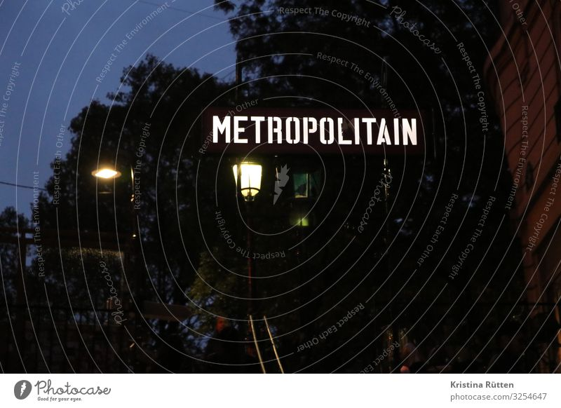 Town Tourism Transport Signs and labeling Logistics Capital city Street lighting Typography Paris Entrance Underground Means of transport Way out Characteristic