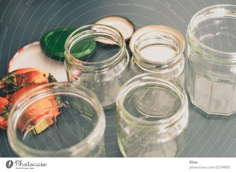 screw lenses Glass Sustainability Preserving jar Packaging material unpacked plastic-free screwed glass Conserve Jam jar Kitchen no waste Eco-friendly Recycling