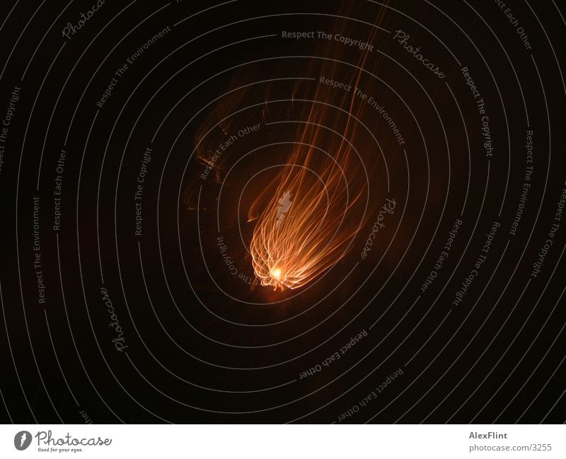 firework2 Club Firecracker Star (Symbol) Light painting Dark 1