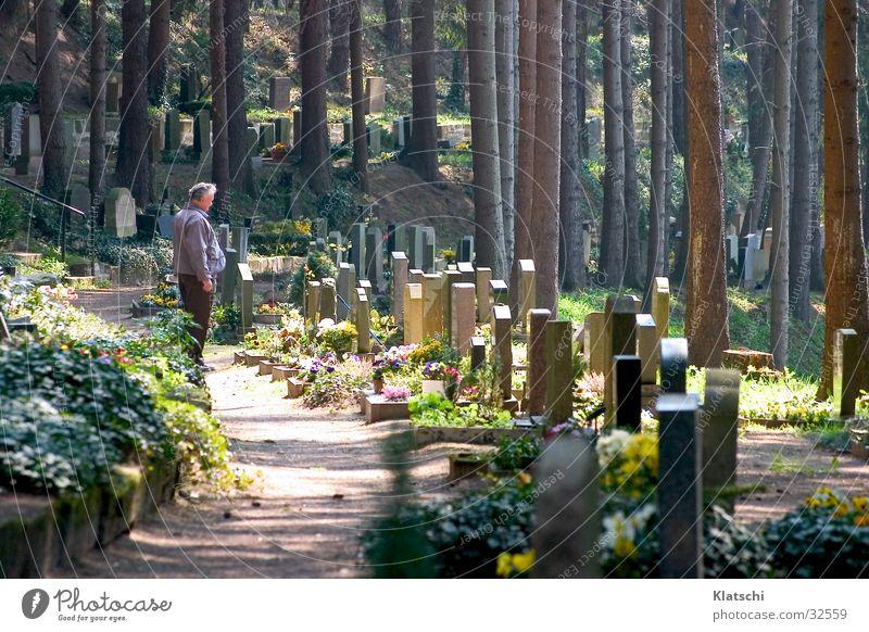 sorrow Cemetery Tombstone Grief Man Death