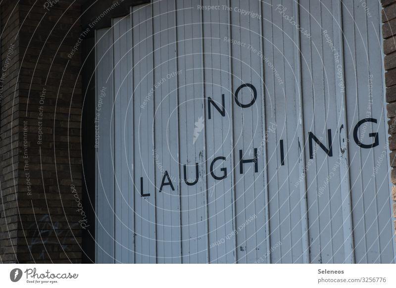 No laughing sign Laughter Warn Signage laugh. smile Optics Garage Prohibition sign Bans