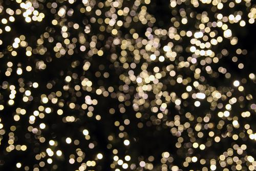 sea of light Design Joy Feasts & Celebrations Christmas & Advent New Year's Eve Shows Party Glittering Illuminate Esthetic Happiness Modern Gold Black White