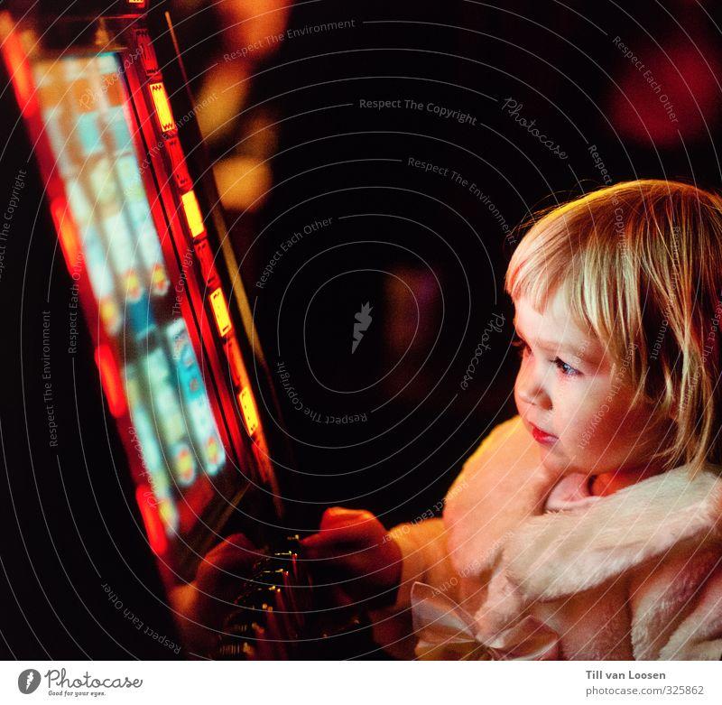 novoline Parenting Child Entertainment electronics Girl 1 Human being 3 - 8 years Infancy Blonde Illuminate Playing Yellow Red Black Gaming machine Addiction